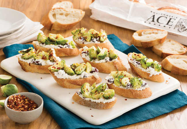 PRO-RECIPE-Brussels-Sprout-Crostini-Baguette